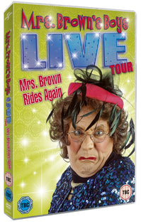 Mrs Brown's Boys Live Tour: Mrs Brown Rides Again [DVD]