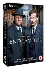 Endeavour Series 1-4 [DVD] [2016]