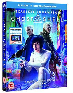 GHOST IN THE SHELL Blu-Ray + digital download [2017]