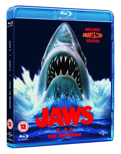 Jaws Box Set (Jaws 2 /Jaws 3 / Jaws: The Revenge) [Blu-ray]