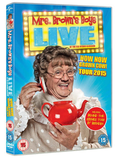 Mrs. Brown's Boys Live: How Now Mrs. Brown Cow [DVD]