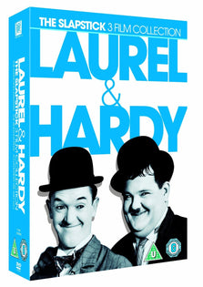 Laurel & Hardy: The Slapstick 3 Film Collection [DVD] [1942]
