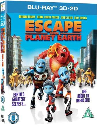 Escape From Planet Earth [Blu-ray 3D + Blu-ray]