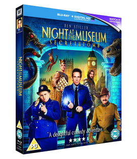 Night at the Museum 3: Secret of the Tomb [Blu-ray + UV]