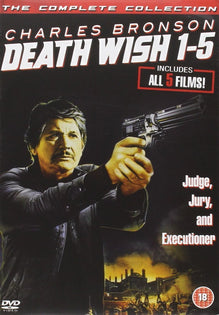Death Wish 1-5 Complete Collection [DVD]
