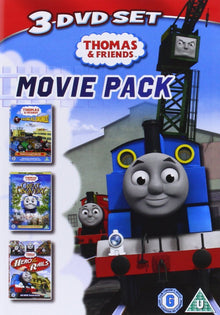Thomas & Friends - Movie Pack - Calling All Engines! / The Great Discovery / Hero of the Rails [DVD]
