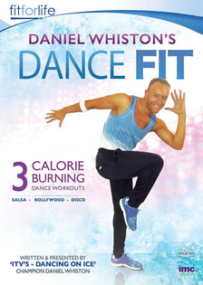 Daniel Whiston's Dance Fit - 3 Calorie Burning Dance Workouts - Bollywood, Disco and Salsa [DVD]