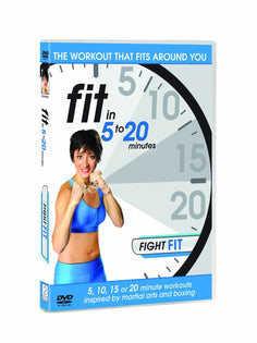 Fit in 5 to 20 Minutes - Fight Fit [DVD]