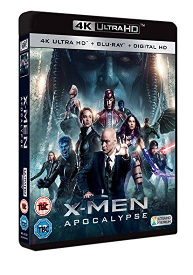 X-Men: Apocalypse [4K Ultra HD Blu-ray + Digital Copy + UV]