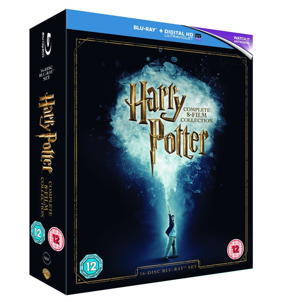Harry Potter - Complete 8-Film Collection (2016 Edition) [Blu-ray] [Region Free]