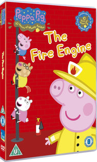 Peppa Pig: The Fire Engine [Volume 12] [DVD]