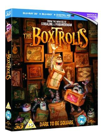 The Boxtrolls (Blu-ray 3D + Blu-ray + UV Copy)