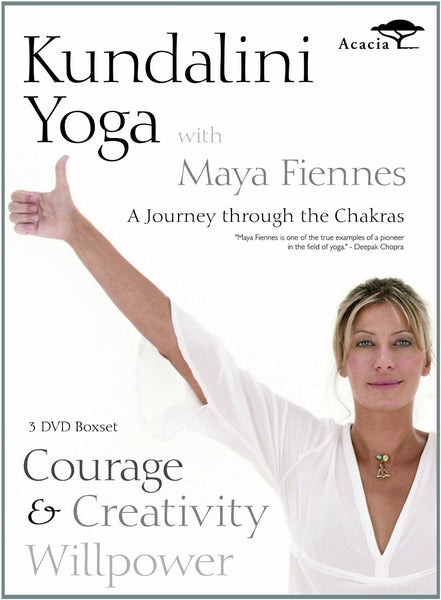 Kundalini Yoga with Maya Fiennes - A Journey Through the Chakras: Courage, Creativity and Willpower [DVD]