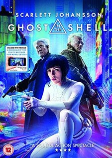 GHOST IN THE SHELL DVD + digital download [2017]
