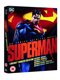 Superman: Animated Collection [Blu-ray] [2016]