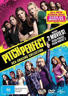 Pitch Perfect / Pitch Perfect 2 Aca-Amazing Collection (Region 4 DVD)
