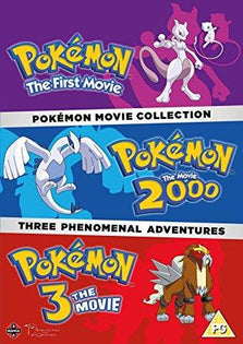 Pokemon Triple Movie Collection: Movies 1-3 [DVD]