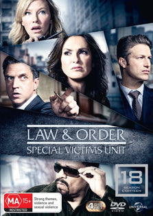 Law and Order Special Victims Unit - Season 18 (Region 4 DVD)