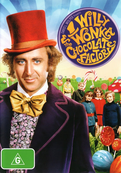 Willy Wonka & The Chocolate Factory (DVD - Region 4)