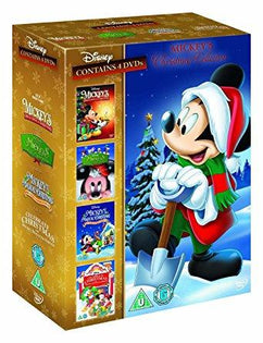 Mickey's Christmas Collection (Once Upon, Twice Upon, Magical Christmas, Celebrate Christmas) [DVD]