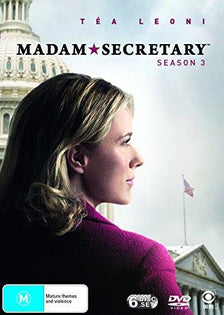 Madam Secretary: Season 3 (Region 4 DVD)