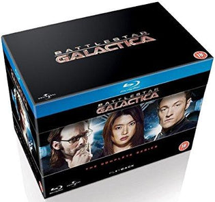 Battlestar Galactica - The Complete Series [Blu-ray] [2004] [Region Free]