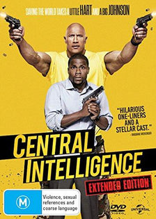 Central Intelligence (DVD - Region 4)