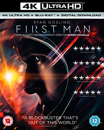 First Man (4K Ultra HD + Blu-ray + Digital Copy) [2018]