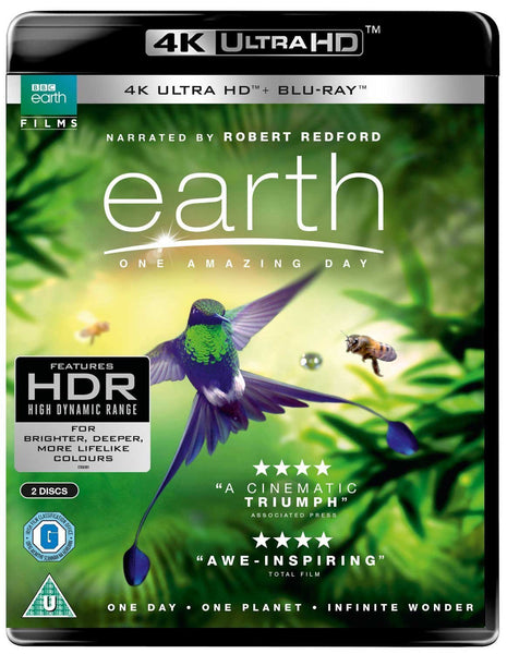 Earth - One Amazing Day UHD [Blu-ray] [2018]