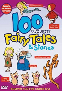 100 Favourite Fairy Tales And Stories [DVD]