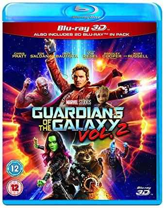 Guardians of the Galaxy Vol.2 3D BD [Blu-ray] [2017] [Region Free