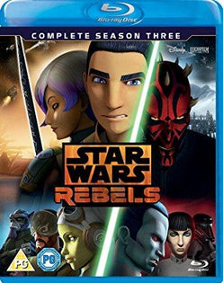 Star Wars Rebels Season 3 [Blu-ray] [Region Free]
