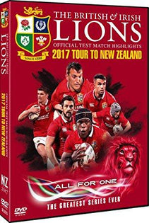 British & Irish Lions Official Test Match Highlights 2017 Tour To New Zealand [DVD]