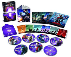 Marvel Studios Collector's Edition Box Set Phase 2 [Blu-ray] [Region Free]
