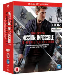 Mission: Impossible - The 6-Movie Collection (4KUHD + Blu-ray + Bonus Disc) [2018]