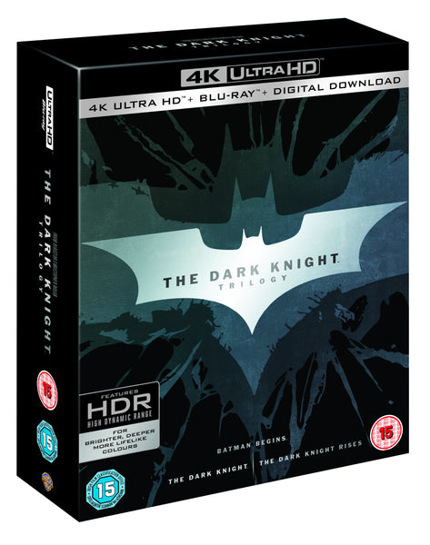 The Dark Knight Trilogy 4K [Blu-ray] [2017]