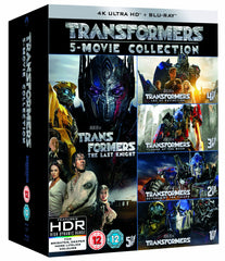 Transformers: 5-Movie Collection [4K Blu-ray]
