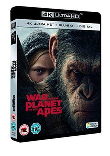 War for the Planet of the Apes [Blu-ray 4k + UV] [2017]