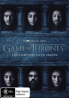 Game of Thrones Season 6 (DVD - Region 4)