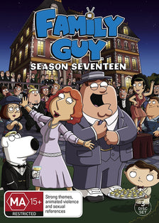 FAMILY GUY: SEASON 17 (3 DISC) (DVD - Region 4)