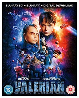 Valerian and the City of A Thousand Planets (Lenticular) [Blu-ray 3D + UV] [2017]