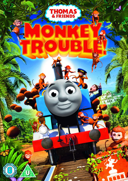 Thomas & Friends - Monkey Trouble! [DVD] [2019]