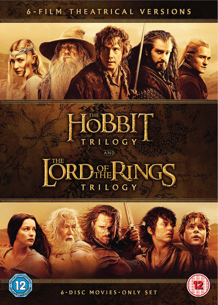 Hobbit Trilogy / The Lord Of The Rings Trilogy (6 Dvd)