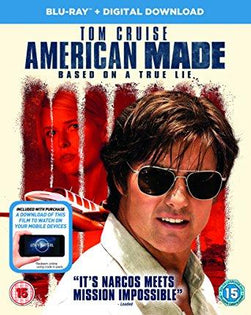 American Made (BD + Digital download) [Blu-ray] [2017]
