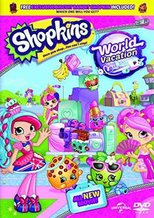 Shopkins - World Vacation (includes exclusive Shopkin figure) [DVD]