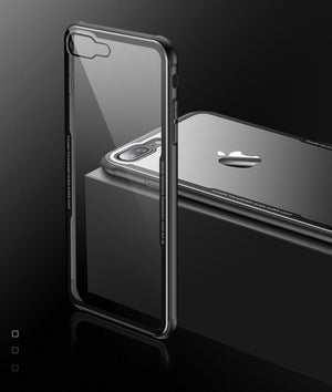 Luxury Tempered Glass Case Cover For iphone