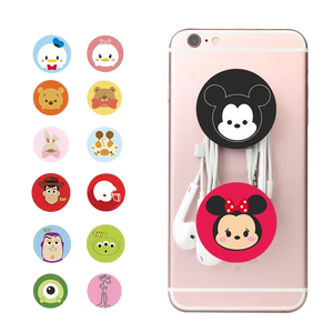 Adorable Pop Grip Sockets, Prevent Dropping Smartphones and Tablets