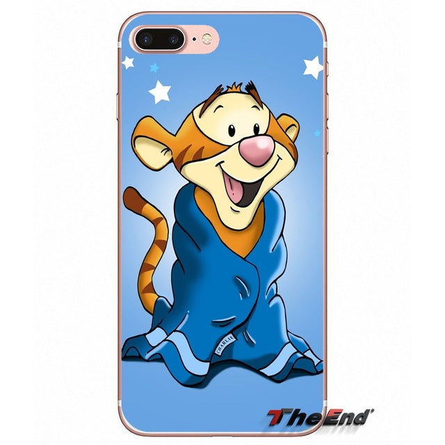 Phone Case Winnie the pooh Tigger and Eore for Most iPhones and Samsung Phones