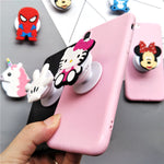 Candy Color Cute 3D Cartoon Grip Stand Holder