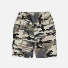 Camouflage Elastic Waist Cotton Children Shorts